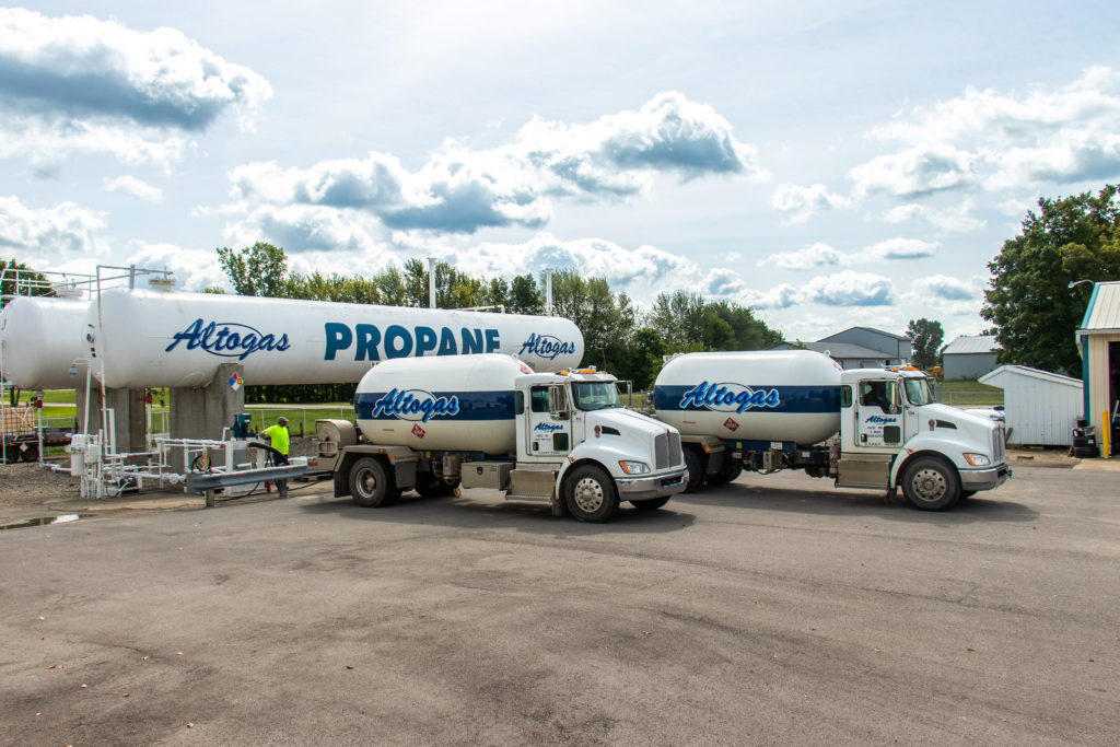 Altogas's Supply Trucks